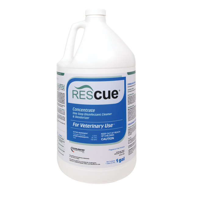 Rescue (Accel) Disinfectant