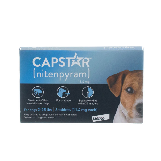 Capstar Under 25 lbs, 6 ct