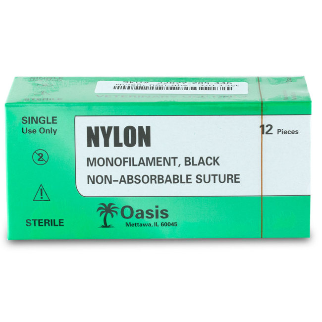 Nylon Monofilament Black Non-absorbable Suture