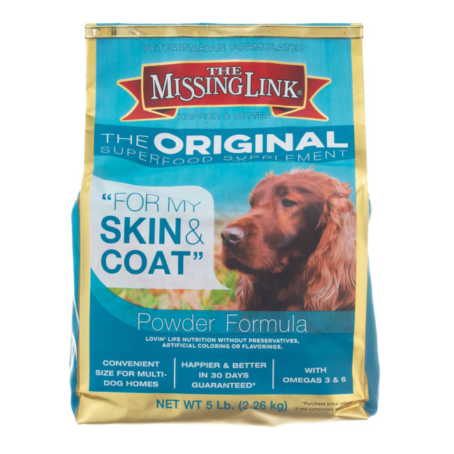 Image of The Missing Link Canine & Feline 5 lb, Canine Skin & Coat