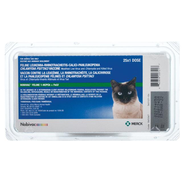 Nobivac Feline 1-HCPCh+FeLV (Eclipse 4 + FeLv)