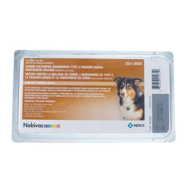 nobivac canine flu bivalent - 30361-415