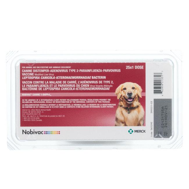 Nobivac Canine 1-DAPPvL2 (Galaxy DA2PPvL)