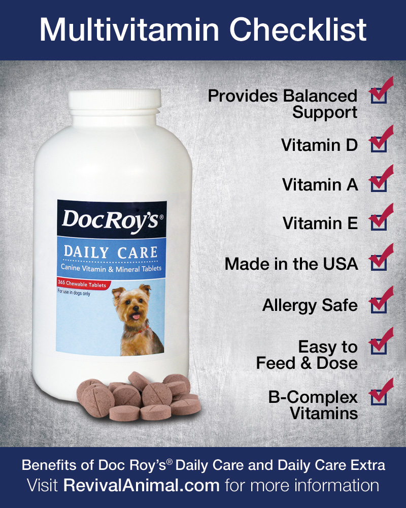Dog Multivitamin Checklist