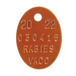 Rabies Tags 2016
