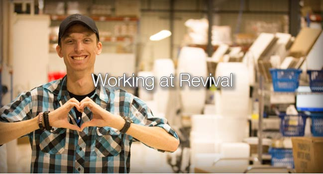 working at revival